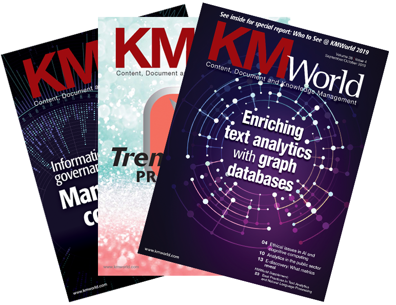KMWorld Covers